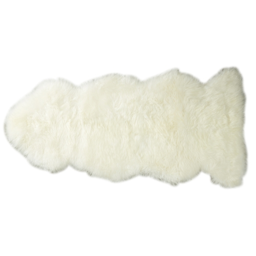 New Zealand Long Wool Rugs (Ivory)