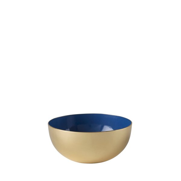 Metal Bowl Enamel (blue)